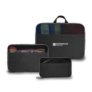 NCL Jetsetter 3 Piece Packing Cube Set