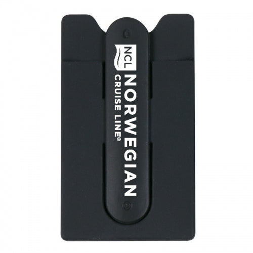 Norwegian Silicone Phone Wallet With Stand