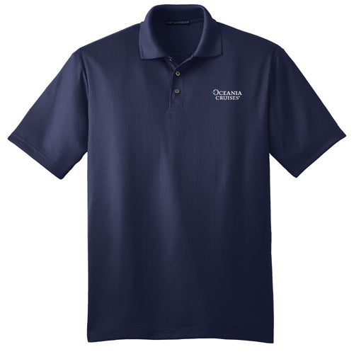 Oceania Men's Performance Fine Jacquard Polo