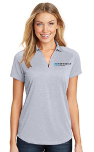 Ladies Heather Performance Polo