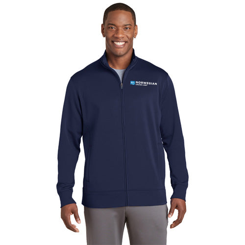 MEN's SPORT-WICK® FLEECE FULL-ZIP JACKET