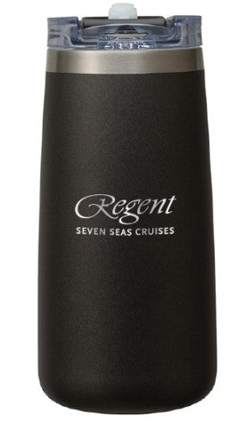 Regent Cruises 16 oz. Double Wall Stainless Steel Tumbler