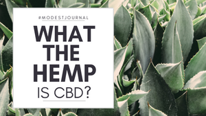 What the Hemp is CBD?
