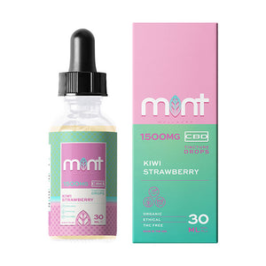 Mint Wellness CBD Oil Tincture- Kiwi Strawberry 30ml