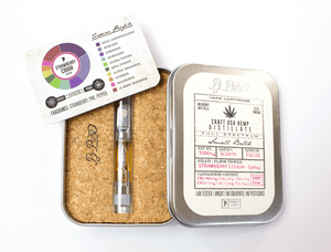 Primary Jane CBD Oil Cartridge -  Strawberry Cough