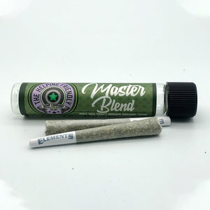 Helping Friendly CBD Flower - Master Blend PreRoll at Modest Hemp Co.