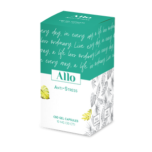 Allo CBD Stress Relief Capsules at Modest Hemp