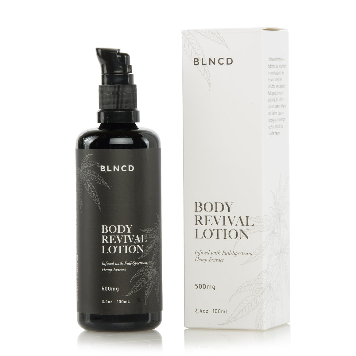 BLNCD Naturals CBD Body Revival Lotion at Modest Hemp Co.