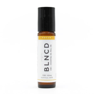 BLNCD Naturals CBD Oil Roll On -  Focus at Modest Hemp Co.