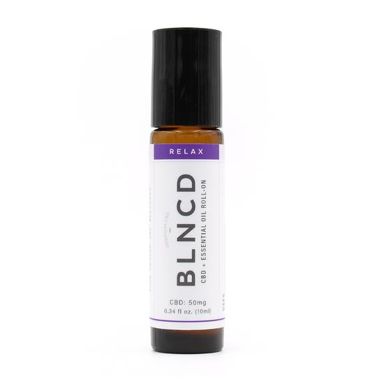 BLNCD Naturals CBD Oil Roll On -  Relax at Modest Hemp Co.