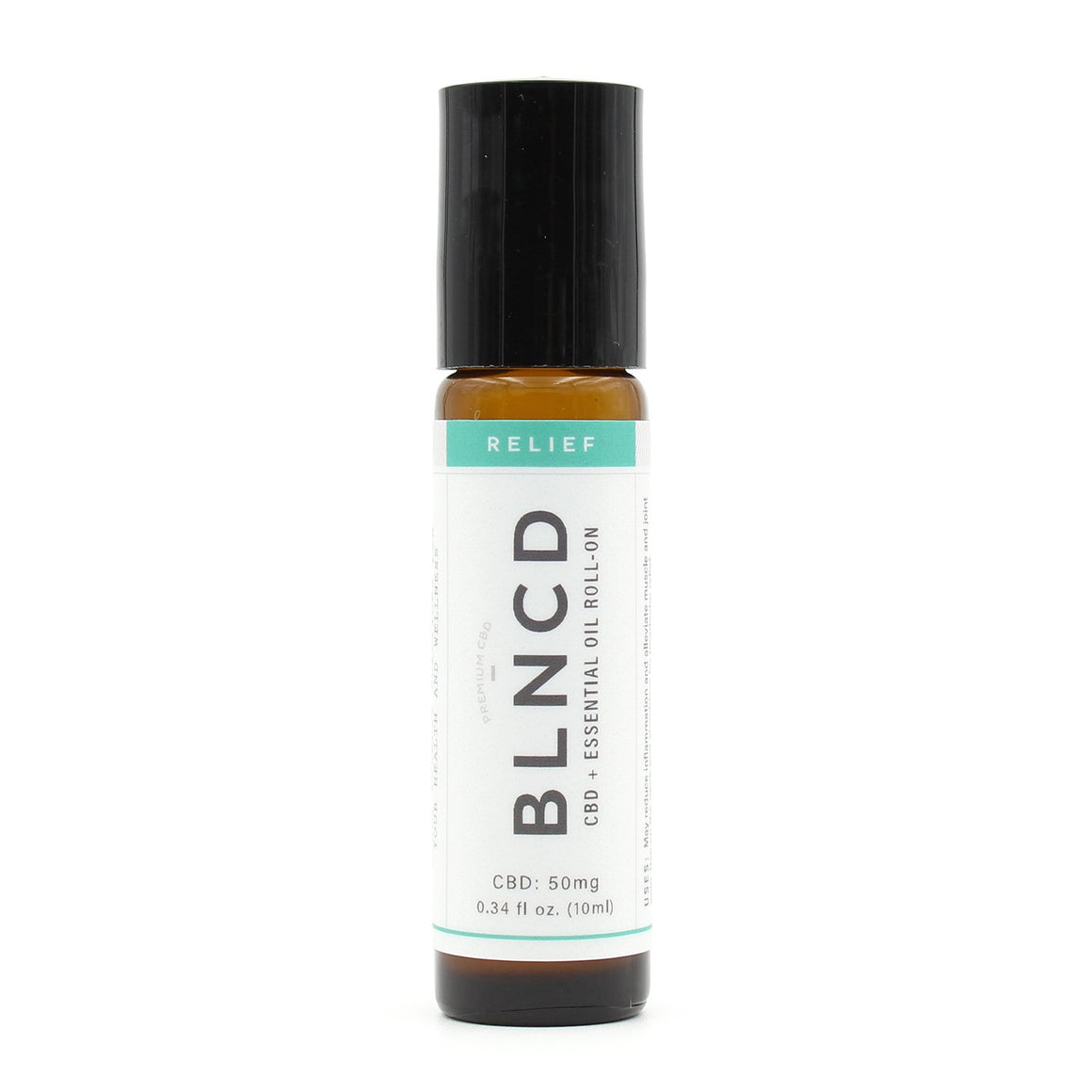 BLNCD Naturals CBD Oil Roll On - Relief at Modest Hemp Co.