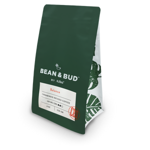 Balance CBD Coffee from Bean & Bud at Modest Hemp Co.