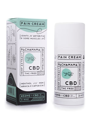 Pain Cream by Enjoy Pachama at Modest Hemp Co.