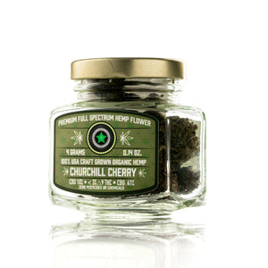 Helping Friendly Hemp Flower - Churchill Cherry