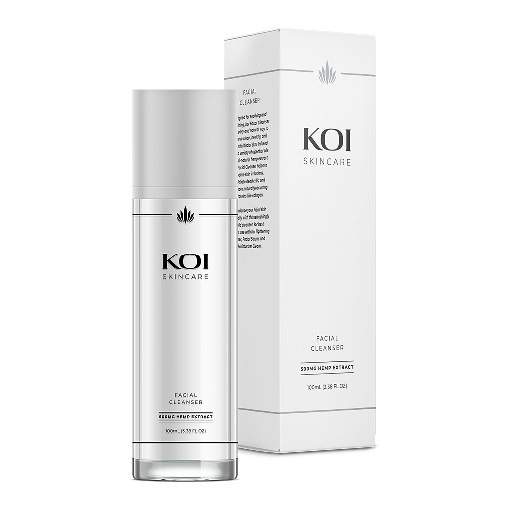 Koi CBD Skincare - Facial Cleanser for sale at Modest Hemp Co.