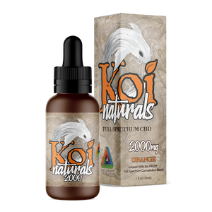 Koi Naturals CBD Oil Tincture 30ml - Orange at Modest Hemp Co.