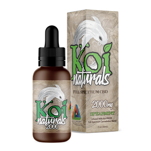 Koi Naturals CBD Oil Tincture 30ml - Spearmint at Modest Hemp Co.