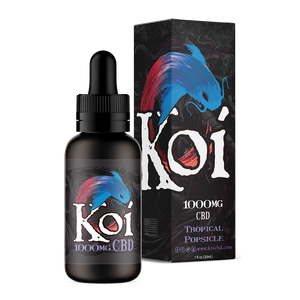 Koi CBD Vape Juice 30ml -Tropical Popsicle