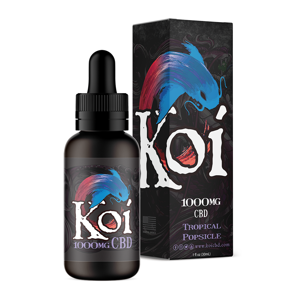 Koi CBD Vape Juice 30ml -Tropical Popsicle at Modest Hemp Co.