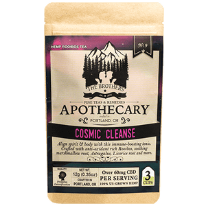 Cosmic Cleanse CBD Tea - The Brother's Apothecary at Modest Hemp Co.
