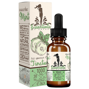 Savage CBD Oil Tincture- Cucumber Mint 30ml at Modest Hemp Co.