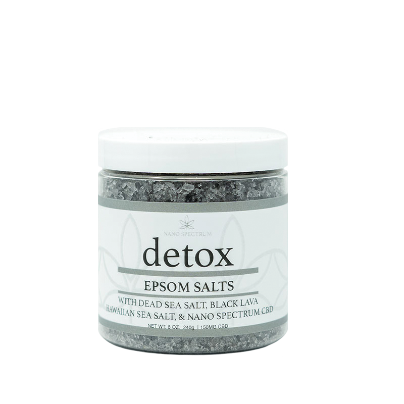 Detox CBD Epsom Salt by Savage Enterprises at Modest Hemp Co.