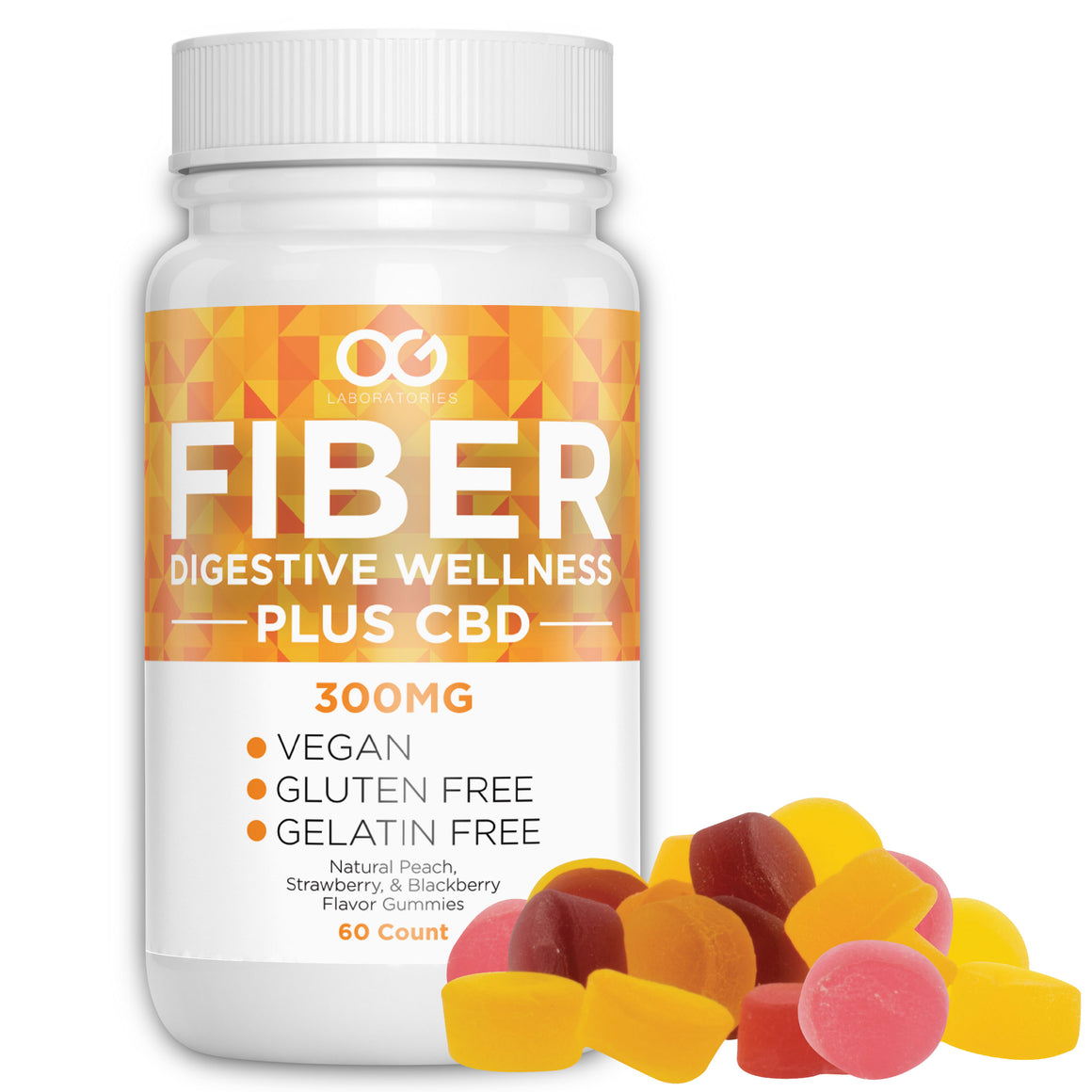 OG Labs CBD Fiber Gummies at Modest Hemp Co.