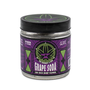 Foundry CBD Hemp Flower - Grape Soda at Modest Hemp Co. 3.5g