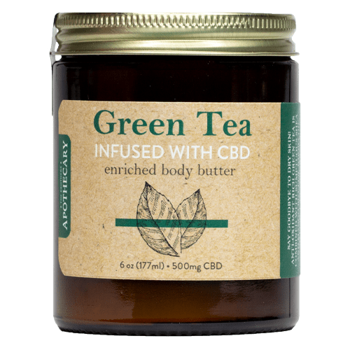 Green Tea CBD Body Butter - The Brother's Apothecary - Modest Hemp Co.