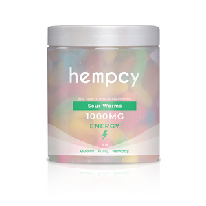 Hempcy CBD Gummies- Sour Worms at Modest Hemp Co.