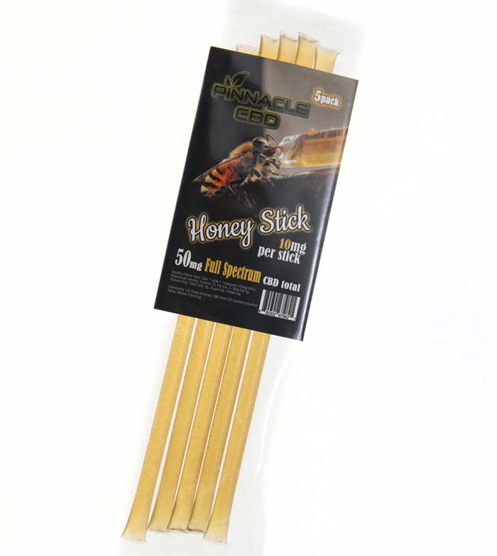 Pinnacle CBD Edible - Honey Sticks at Modest Hemp Co.