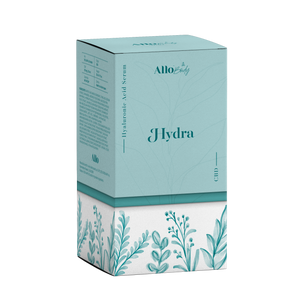 Allo CBD Skin Care - Hydra- Hyaluronic Acid Serum at Modest Hemp Co.
