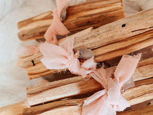Crystal Rising - Palo Santo Rose Quartz Bundle