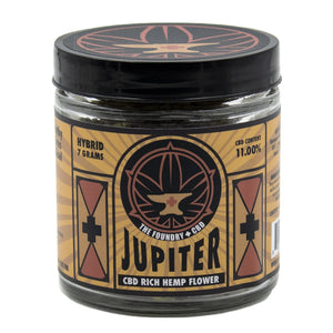 Foundry Premium CBD Hemp Flower - Jupiter OG - Modest Hemp Co.