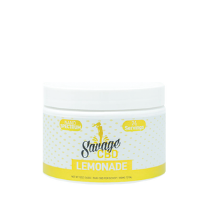 Savage CBD Drink - Lemonade Drink Powder