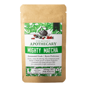 The Brother's Apothecary Mighty Matcha - CBD Tea at Modest Hemp Co.
