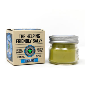 Helping Friendly CBD Topical - Cooling Salve at Modest Hemp Co.