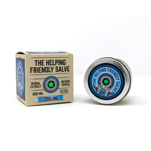 Helping Friendly CBD Topical- Cooling Salve