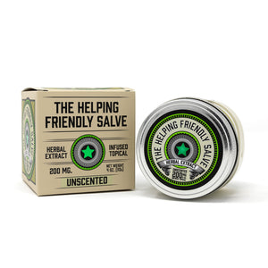 Helping Friendly CBD Topical- Unscented Salve