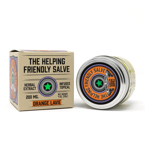Helping Friendly CBD Topical- Orange Lavie Salve