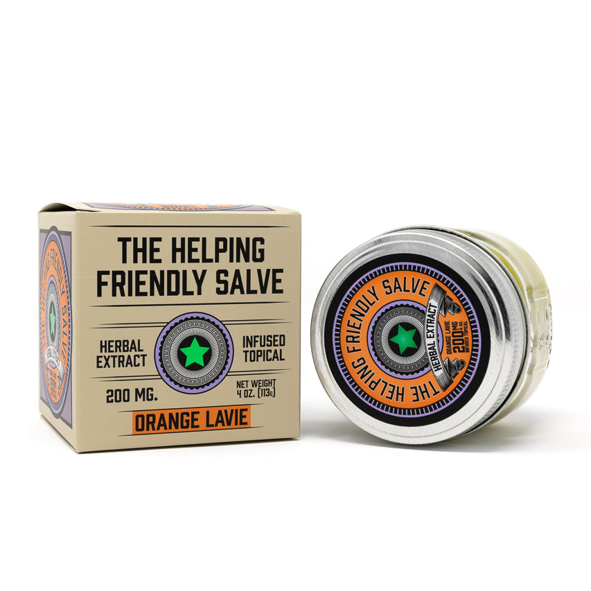 Orange Lavie Hemp from The Helping Friendly Salve at Modest Hemp Co