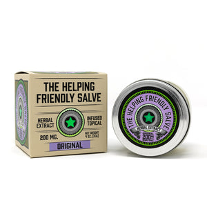 Helping Friendly CBD Topical - Original Salve at Modest Hemp Co.