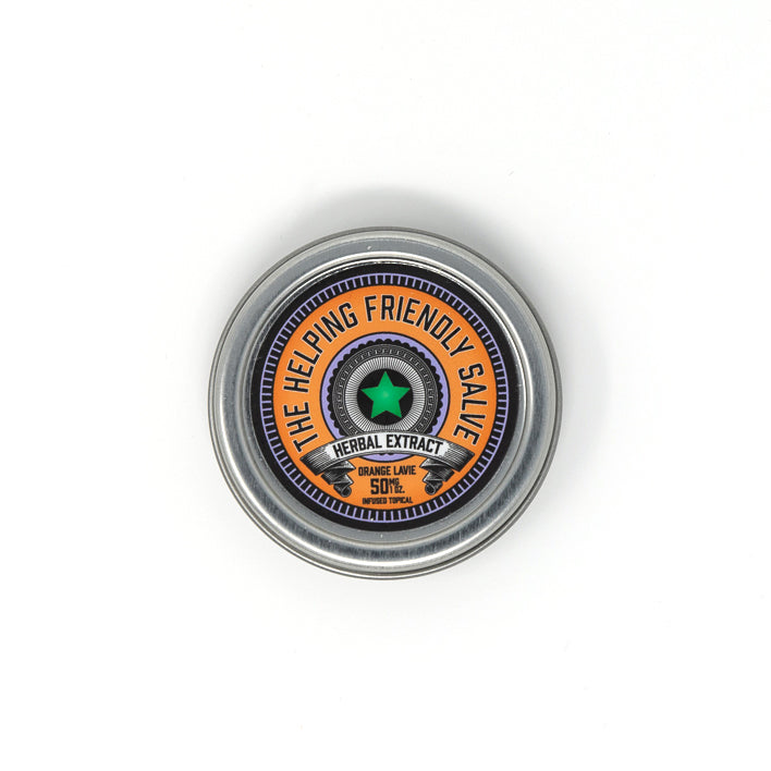 Helping Friendly CBD Topical - for sale Orange Lavie Salve 50mg