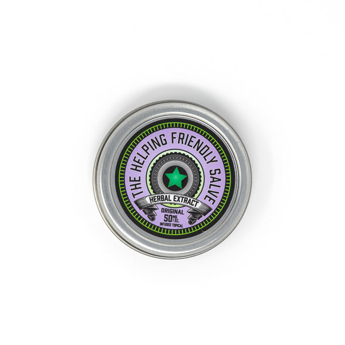 Helping Friendly Salve CBD Topical - Original Salve 50mg at Modest Hemp Co.