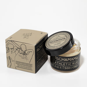 Athletic Rub by Enjoy Pachamama at Modest Hemp Co.
