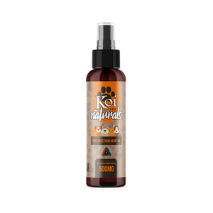 Koi CBD Pet Spray at Modest Hemp Co.