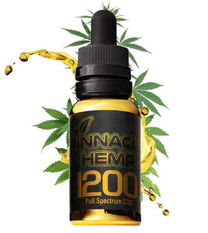 Pinnacle CBD VG Oil Tincture at Modest Hemp Co.