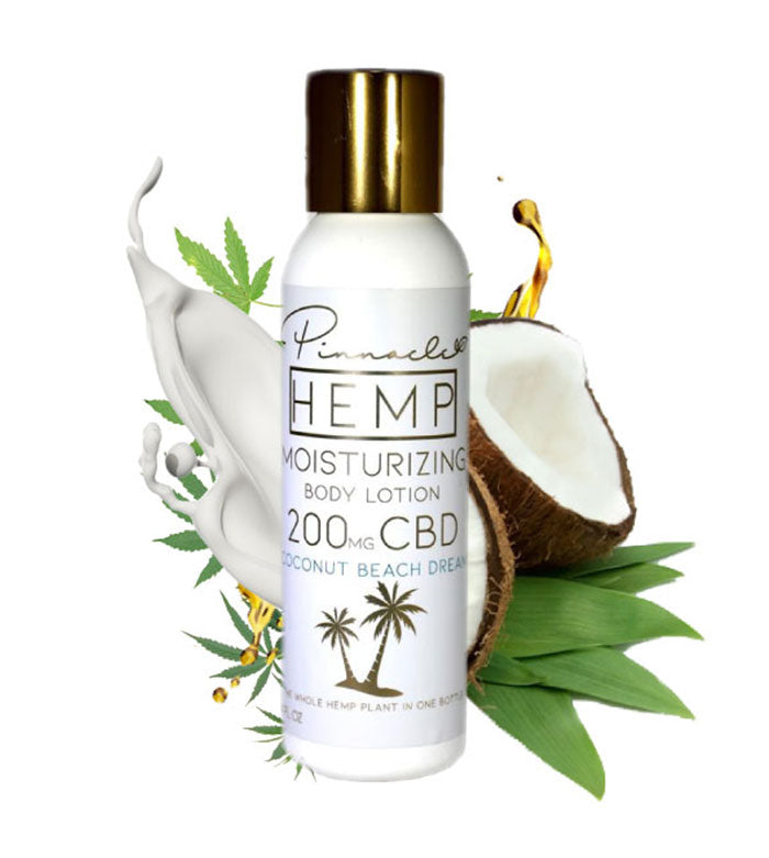 Pinnacle CBD Lotion - Coconut Body at Modest Hemp Co.