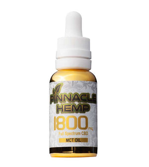 Pinnacle CBD Oil Tincture - MCT at Modest Hemp Co.