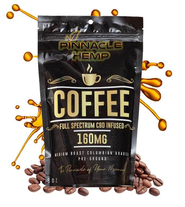 Pinnacle Hemp CBD Coffee at Modest Hemp Co.